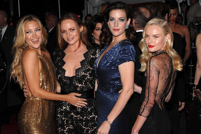 </p><p>...And Stella McCartney and Kate Hudson, Liv Tyler, and Kate Bosworth.