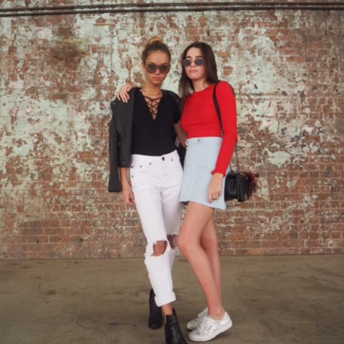 </p><p>Inka and I before the shows at Carriage Works.