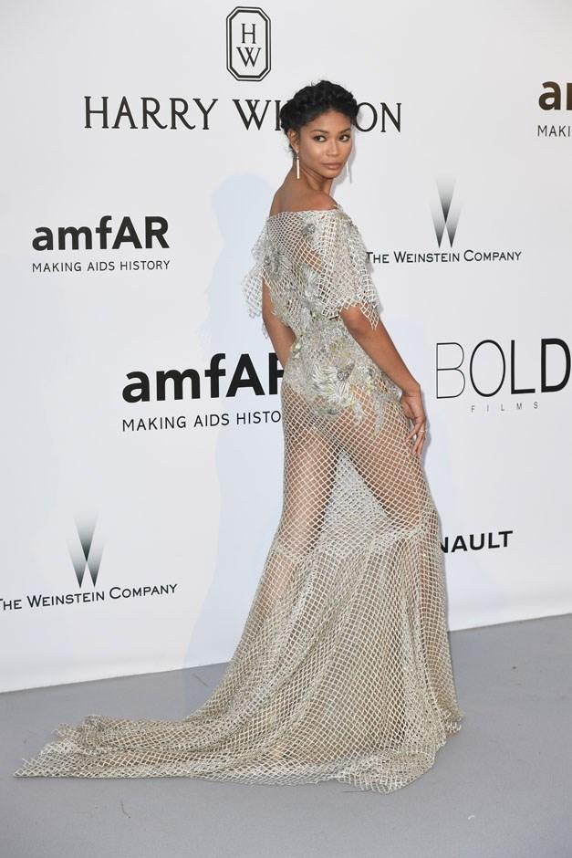 Chanel Iman.