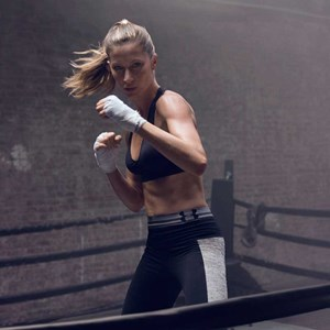 Gisele Bundchen appears in an ad campaign for Under Armour