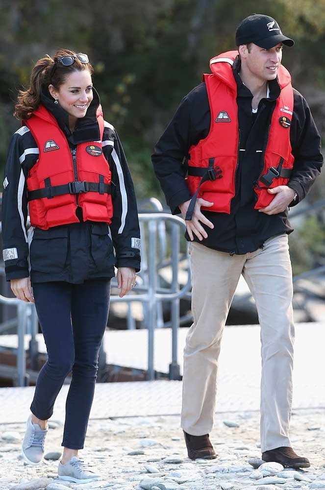 "</p><p>When she paired them with a life vest and somehow made you think life vests were ""in""."