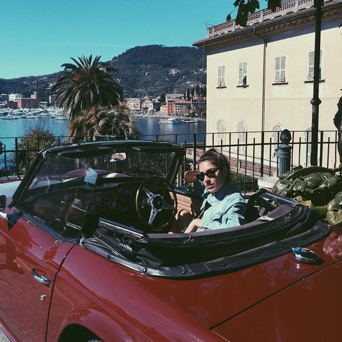 "@patriciamanfield: ""Good morning Portofino!"""