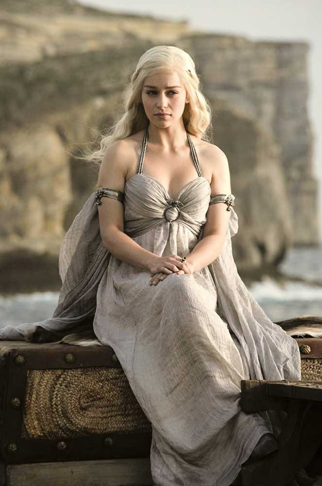 </p><p><b>Daenerys Targaryen</b></p><p> Daenerys Stormborn of the House Targaryen, first of her name, Trueborn Queen of the Andals and the First Men, the Unburnt, the Breaker of Chains, Protector of the Realm, and basically anything else you want to throw in there is played by <em>Me Before You</em> star, Sexiest Woman Alive, and everyone's imaginary best friend Emilia Clarke.