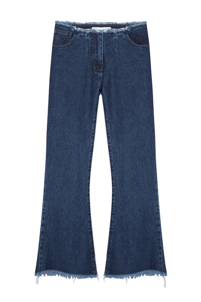 "<a href=""https://www.mychameleon.com.au/cropped-flare-jean-p-3823.html"">Jeans, $399, Marques-Almeida at mychameleon.com.au</a>"