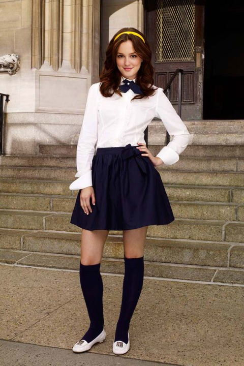 This classic Blair uniform.