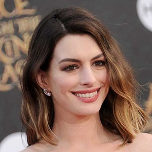 Actress Anne Hathaway arrives at the premiere of Disney's 'Alice Through The Looking Glass' at the El Capitan Theatre in Hollywood