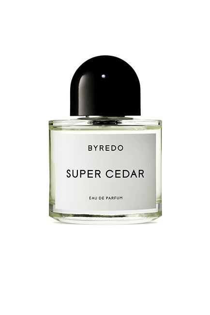 "The woody winter wonder scent.<br><br> <strong>Super Cedar, $254 for 100ml, <a href=""http://mecca.com.au/byredo/super-cedar-edp/V-023914.html?cgpath=whatsnew"">Byredo</a></strong>"