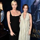 Charlize Theron Threw A Baby Shower For Emily Blunt image