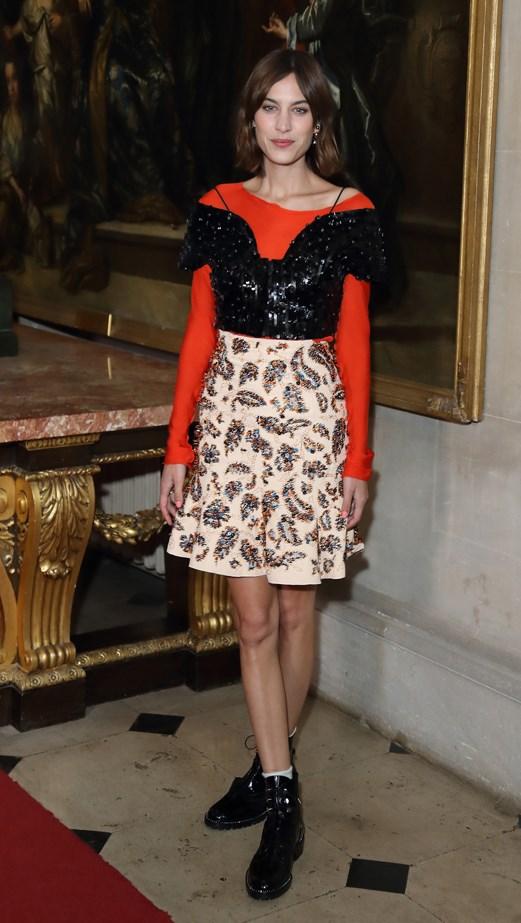 Alexa Chung at Dior Cruise 17.