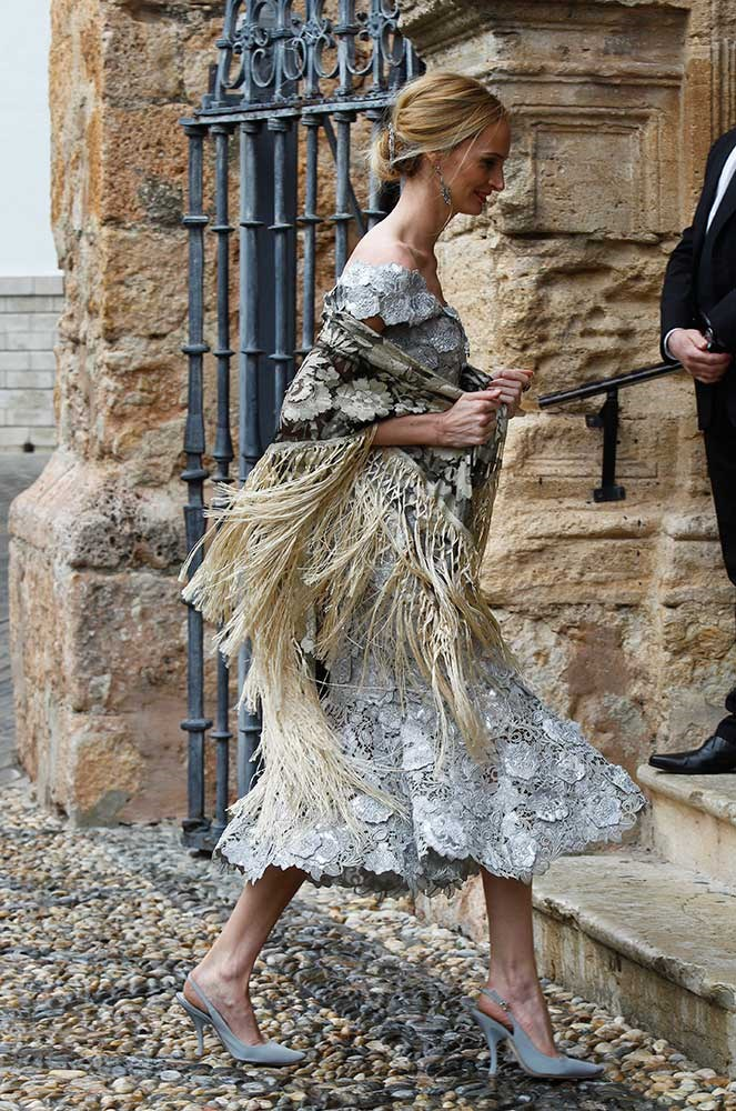 </p><p>The 200-strong guest list included Lauren Santo Domingo, founder of Moda Operandi and sister-in-law of the groom, who rocked tassels like it was nobody's business.