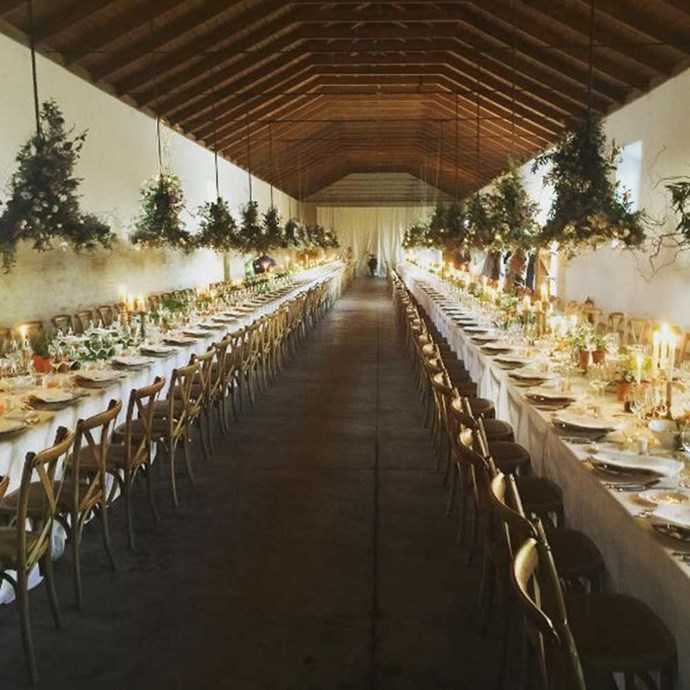 </p><p>The reception was held in the Duke's 2400-acre family estate in Dehesa Baja, Spain.