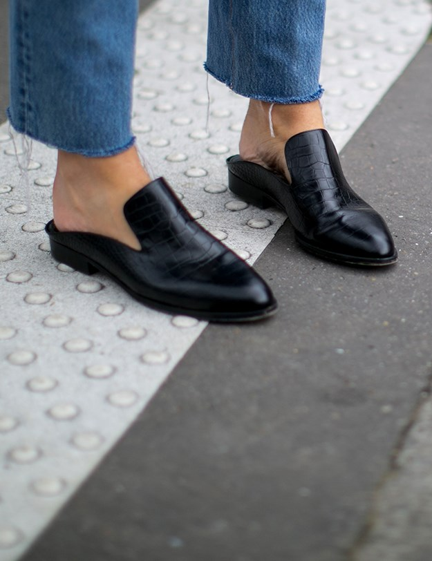 7. THE BACKLESS LOAFER
