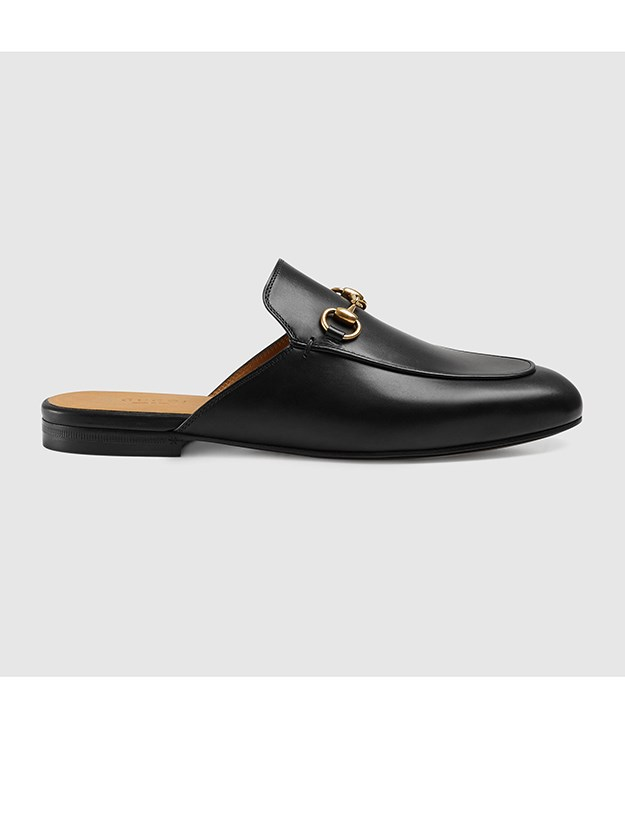 "<a href=""http://https://www.gucci.com/au/en_au/pr/women/womens-shoes/womens-moccasins-loafers/princetown-leather-slipper-p-423513BLM001000?position=4&listName=ProductGridComponent&categoryPath=Women/Womens-Shoes/Womens-Moccasins-Loafers"">Gucci backless loafer, $695, Gucci.com/</a>au"