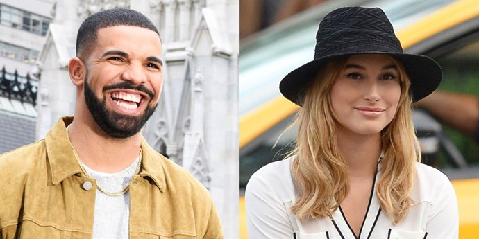 Drake And Hailey Baldwin.
