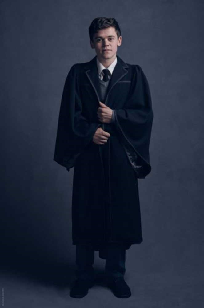 "</P><p>""There's much I could say about Sam-as-Albus, but we'd be into spoiler territory so quickly I'll just say we couldn't have cast better,"" Rowling said of Clemmett."