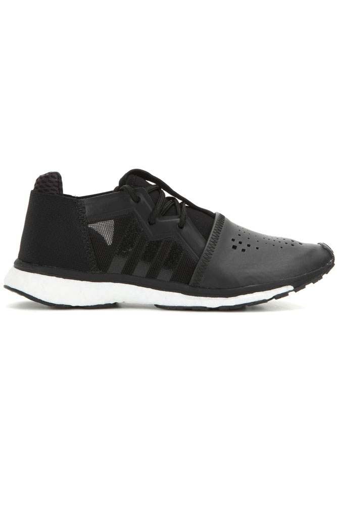 """<strong>Black-on-black</strong><br><br> <a href=""""http://www.mytheresa.com/en-au/racer-leather-sneakers-583322.html?catref=category"""">Sneakers, $489, Y-3 Sport</a>"""
