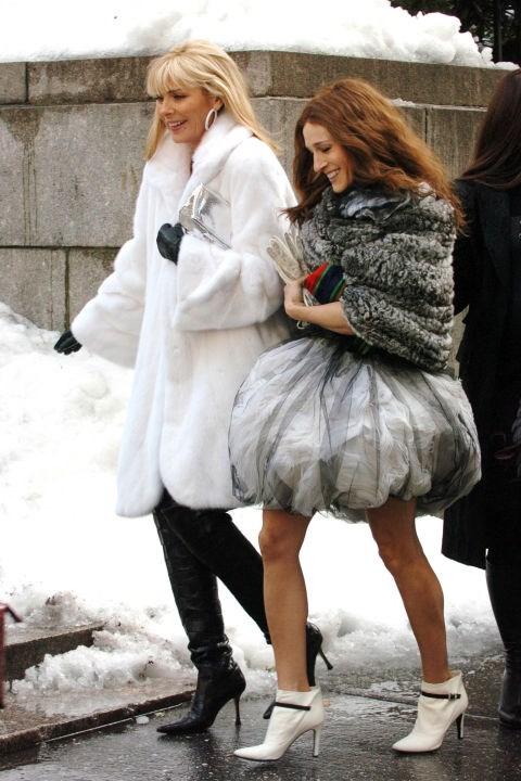The fashion week bubble.