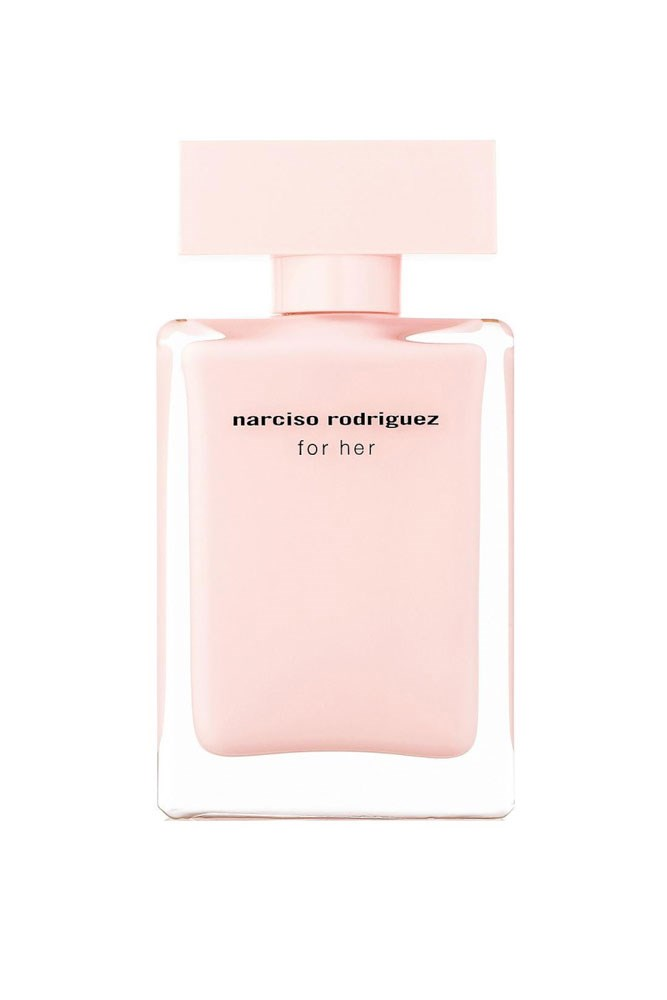 """""""I don't have a signature scent as I like to mix it up every few months, but this is a beautiful musky fragrance that always gets a compliment."""" – Sarah Birnabuer, art director <br><br> <a href=""""http://shop.davidjones.com.au/djs/ProductDisplay?catalogId=10051&productId=5978038&langId=-1&storeId=10051"""">For Her EDP, $138 for 50ml, Narciso Rodriguez</a>"""