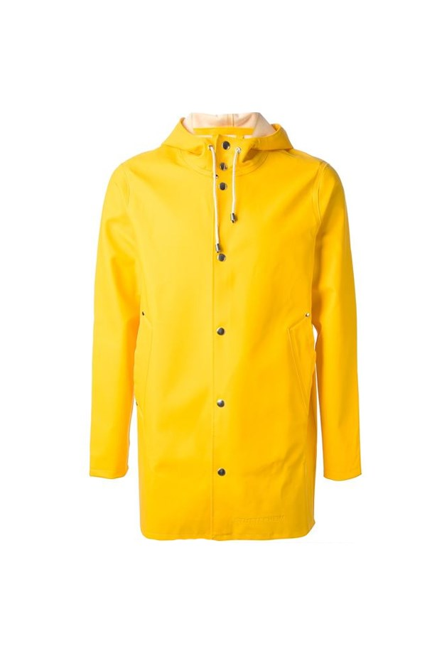 "<p> THE READY FOR THE RAIN(COAT)<p> <p> Classic and timeless, the iconic yellow raincoat is perfect for all this rainy weather. Keep yourself singing in the rain with this happy number and match with a white t-shirt, black jeans and most importantly, the wellies for splashing in.<p> <p> Raincoat, $319, Stutterheim at <a href=""http://www.farfetch.com/au/shopping/men/stutterheim--stockholm-raincoat-item-10330754.aspx?storeid=9620&from=listing&ffref=lp_pic_442_10_"">farfetch.com </a>"