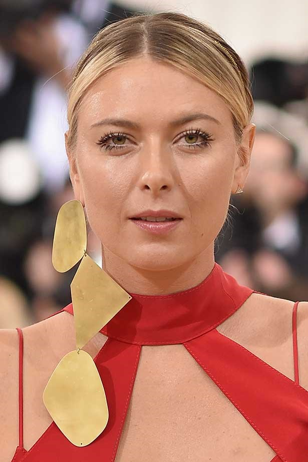 Russian tennis player Maria Sharapova attends the 'Manus x Machina: Fashion In An Age Of Technology' Costume Institute Gala at Metropolitan Museum of Art