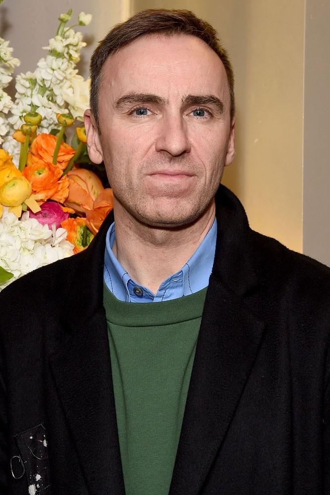 Raf Simons fashion designer