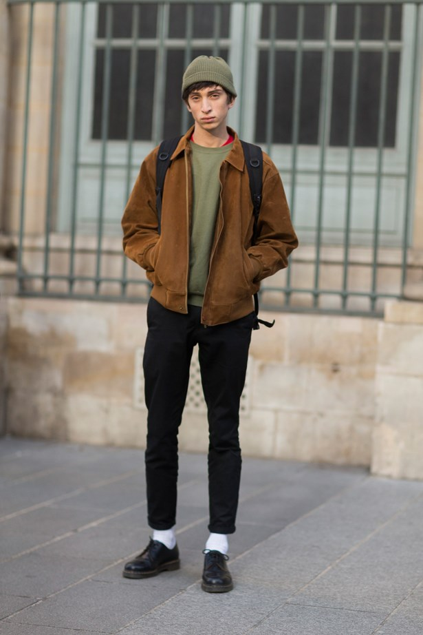 <p>KHAKI KICKS<p> <p> News flash: khaki is in. The natural and muted tones team well with neutrals like black, white and brown and are universally flattering on pretty much all skin tones. It's time to take camouflage out of the army and on to the street.
