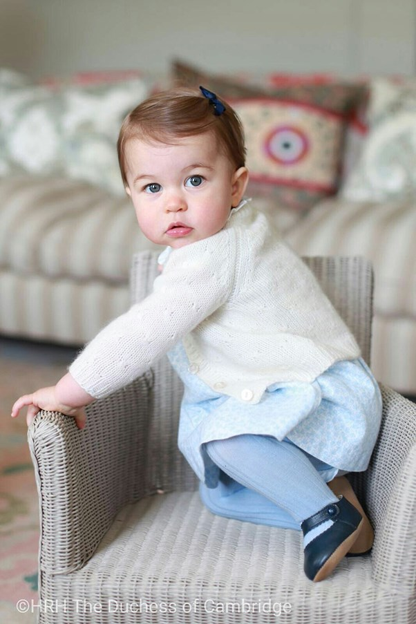 Princess Charlotte of Cambridge portraits.