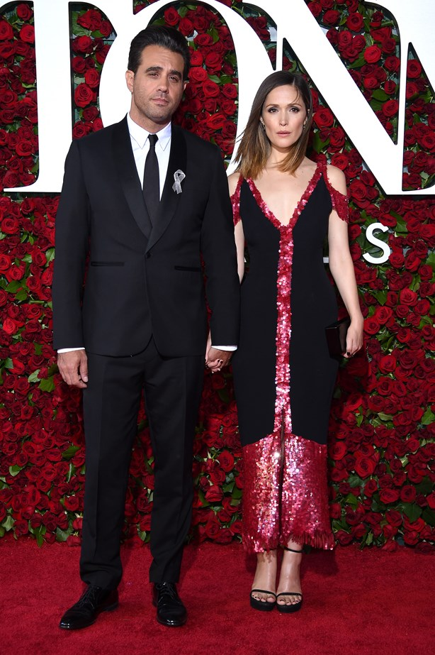 Bobby Cannavale and Rose Byrne.