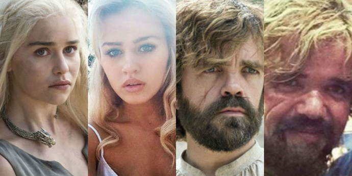 Game of Thrones body doubles.
