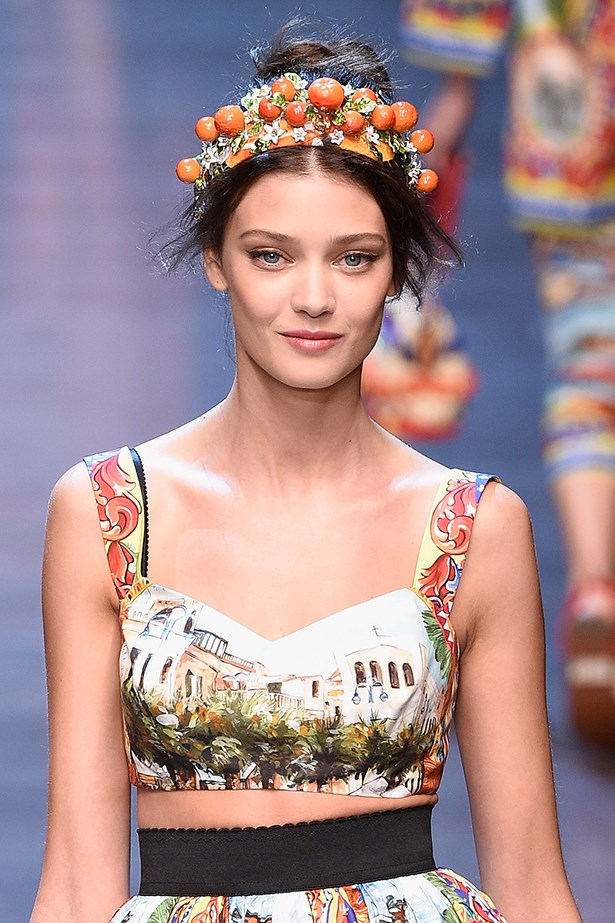 <P>SCORPIO<p> <p> Romance is high on your agenda – and you'll fall hard for Dolce and Gabbana's ethereal ultra-feminine updo.<p> <p> Twist a high pony in to a soft, messy chignon (a few missed strands add to the undone effect) and then inject Italian glamour with a silk headscarf.