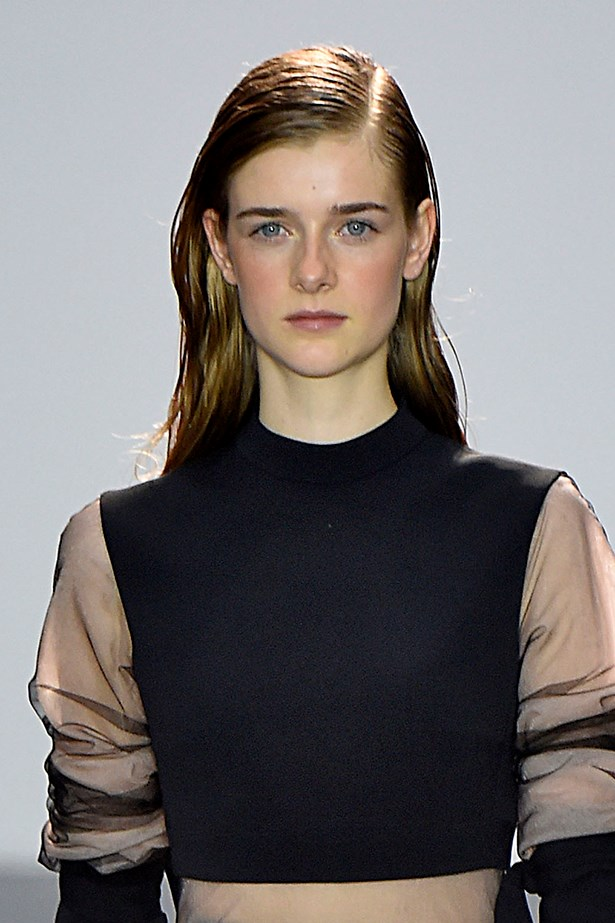 <P>AQUARIUS<p> <p> Innovative and independent, SS16's vampy styles were made for you! <p> <p> Something as simple as switching up your parting can completely change your look. At David Koma, hair was given a deep side parting and plenty of gel for a wet look. Roberto Cavalli went one step further by blow-drying that parting in to a '80s-inspired quiff.