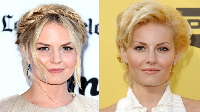 Jennifer Morrison and Elisha Cuthbert.