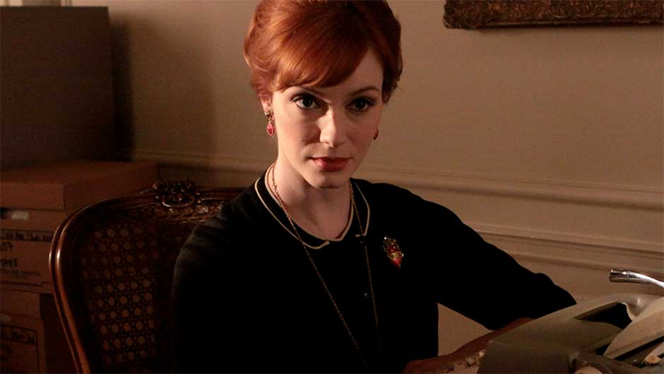 Christina Hendricks as Joan Holloway in 'Mad Men'