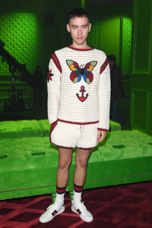 Olly Alexander at Gucci.