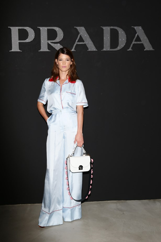 Hanneli Mustaparta at Prada.