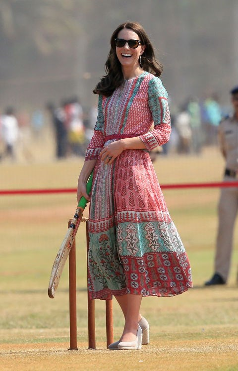 "<p> STAYING TOO ""DRAB""<p> <p> Fans anticipated that the Cambridges' tour of India and Bhutan would be a nonstop parade of brilliant southeastern style, but <a href=""http://www.independent.co.uk/voices/kate-middleton-has-turned-into-the-duchess-of-drab-a6985921.html#gallery"">the Independent called</a> Kate's subdued choices ""embarrassing"" ""dowdy,"" dreary"" and ""lacking pizzazz."""
