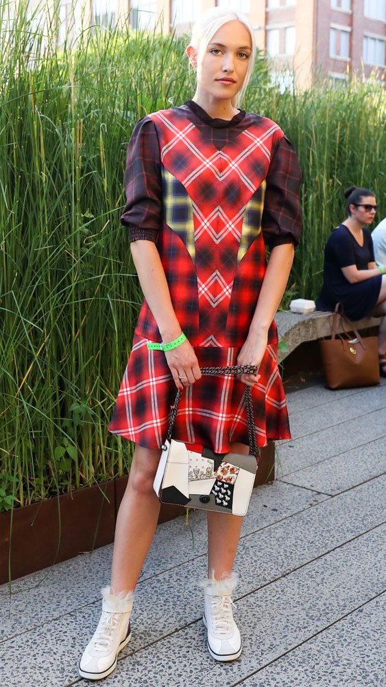 Carlotta Kohl at the Coach & 'Friends of the High Line' summer party in New York.