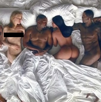 Kayne wests nude
