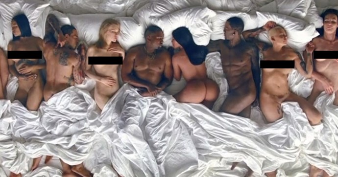 famous video kanye west celebrities react