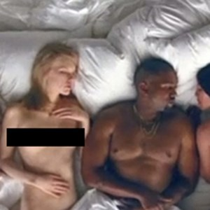 celebrities react to kanye west famous video