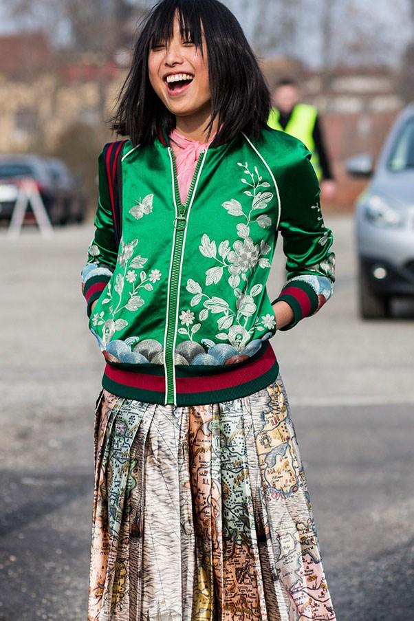 Margaret Zhang in Gucci. Photo: Jason Lloyd Evans