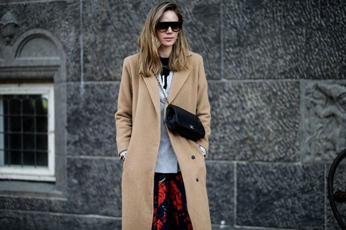 Street style coat