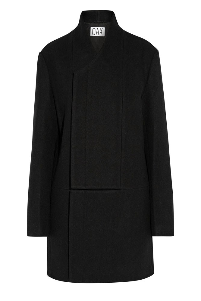 "<a href=""https://www.theoutnet.com/en-AU/product/OAK/Wool-blend-coat/762088"">Coat, $290, Oak at theoutnet.com</a>"