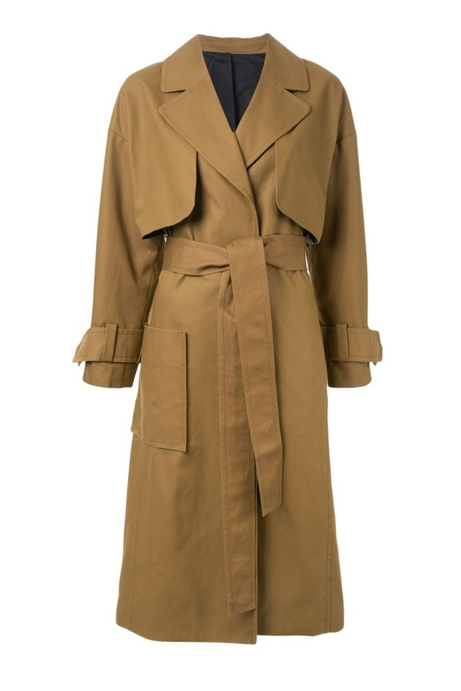 "<a href=""http://www.farfetch.com/au/shopping/women/le-ciel-bleu-oversized-silhouette-trench-coat-item-11445855.aspx"">Coat, $319, La Ciel Bleu at farfetch.com</a>"