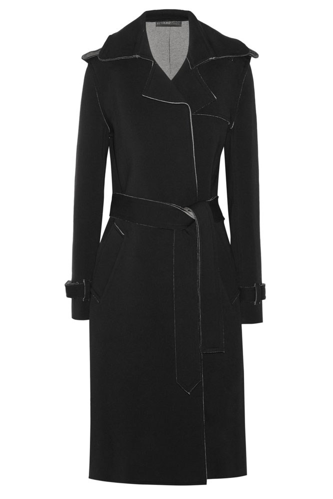 "<a href=""https://www.theoutnet.com/en-AU/product/Norma-Kamali/Cotton-blend-trench-coat/690927"">Coat, approx. $255, Norma Kamali at theoutnet.com</a>"
