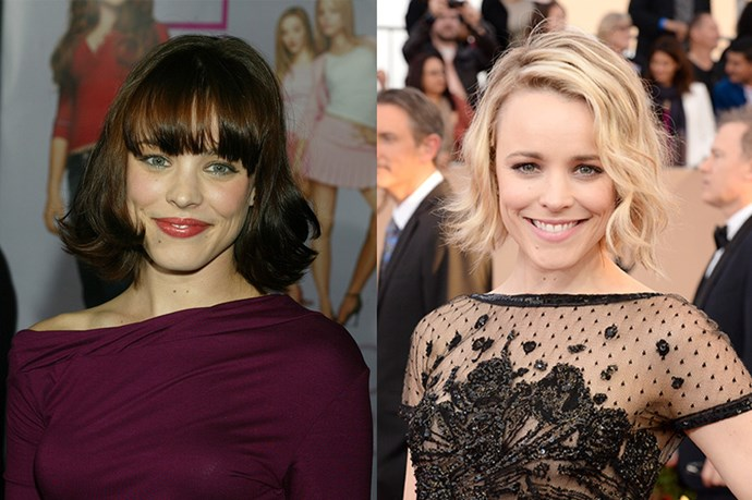 Rachel McAdams switches between hair colours pretty often but her natural colour is brunette.