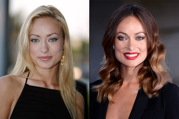 Olivia Wilde's sultry brunette vibe is a cover-up for her California blonde roots.