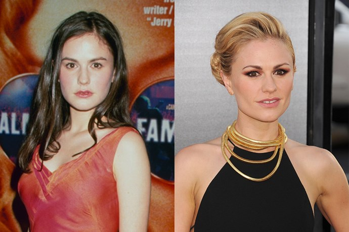 Anna Paquin is also a fake blonde. Her natural colour is dark brunette.