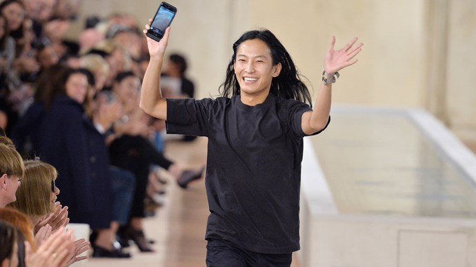 Alexander Wang takes to the Balenciaga runway for the last time