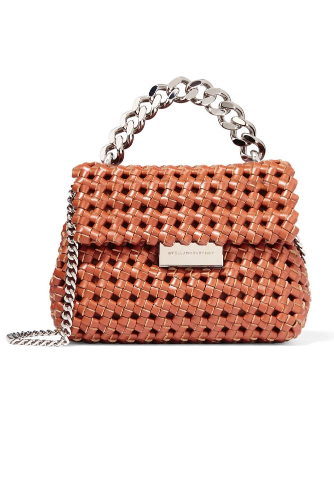 "<a href=""https://www.net-a-porter.com/au/en/product/683994/Stella_McCartney/beckett-basketweave-faux-leather-shoulder-bag"">Bag, $798, Stella McCartney at net-a-porter.com</a>"
